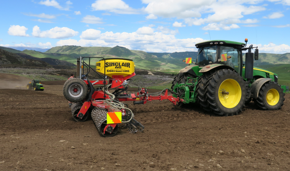 Roller Seed Drill